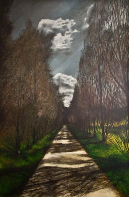 (CreativeWork) PATHWAY by Colleen Bohonis. mixed-media. Shop online at Bluethumb.