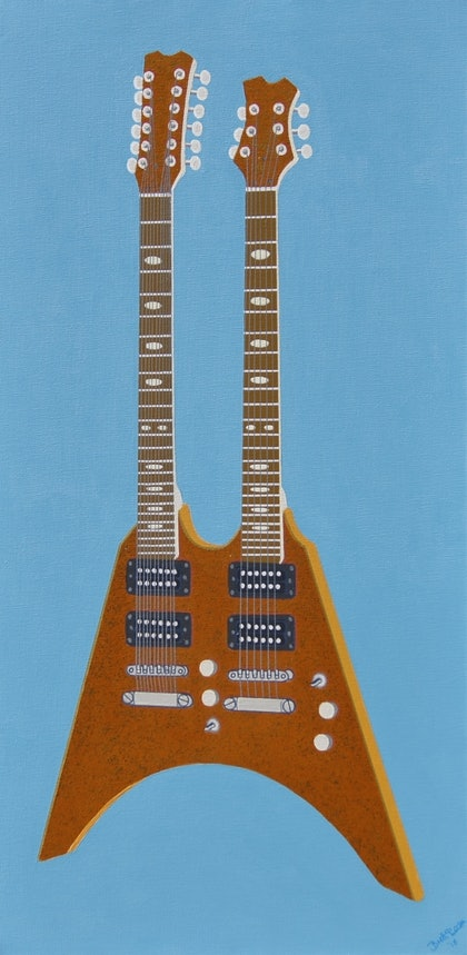The Glamorous Golden Flying V