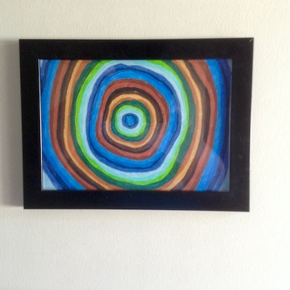 (CreativeWork) Harmony 2 by Mitch Ianni. drawing. Shop online at Bluethumb.
