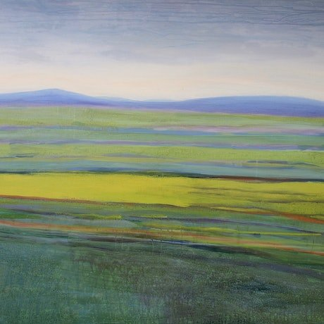 (CreativeWork) Lying Down at Oatlands by Ann Menezies. Oil Paint. Shop online at Bluethumb.