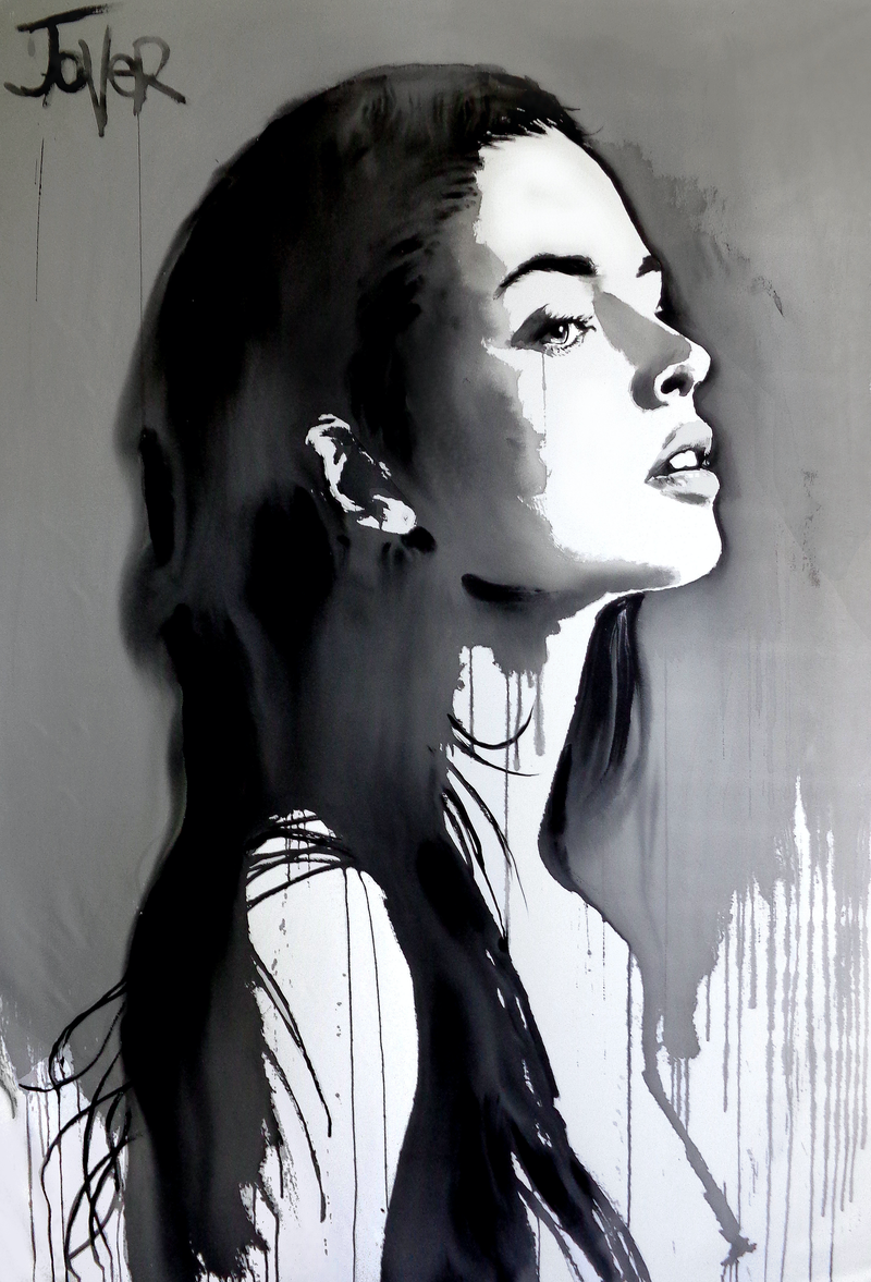 (CreativeWork) ANYBODY by loui jover. arcylic-painting. Shop online at Bluethumb.
