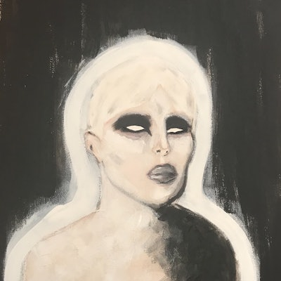 (CreativeWork) BLINDED  by Abbie Bolton. acrylic-painting. Shop online at Bluethumb.