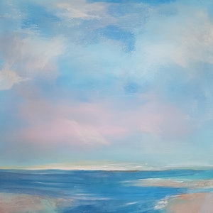 (CreativeWork) Reef Break by Andrea Edwards. arcylic-painting. Shop online at Bluethumb.