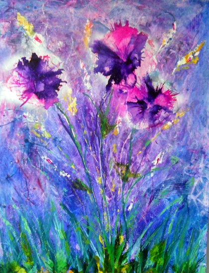 (CreativeWork) Bloomin Luvely by linda bartlett. other-media. Shop online at Bluethumb.