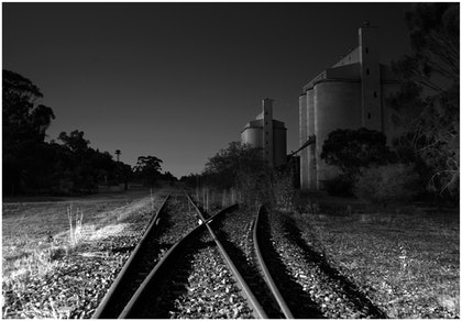 (CreativeWork) Mallee Midnight by Alex Frayne. photograph. Shop online at Bluethumb.
