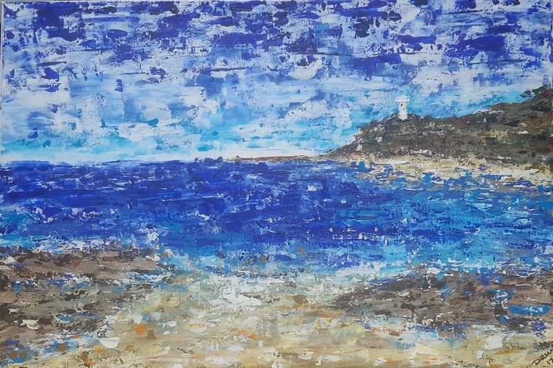 Cabbage Tree Bay Amp Norah Head Lighthouse By Drm Vance