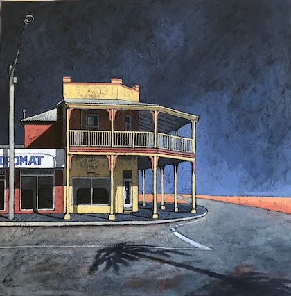 Outback Pub in a Storm