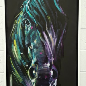 (CreativeWork) Spirit by Kenneth Chu. arcylic-painting. Shop online at Bluethumb.