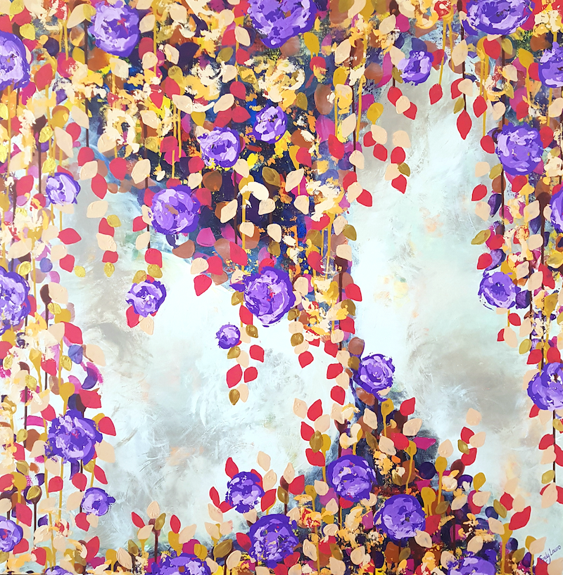 (CreativeWork) Autumn Grace by Emily Lauro. arcylic-painting. Shop online at Bluethumb.