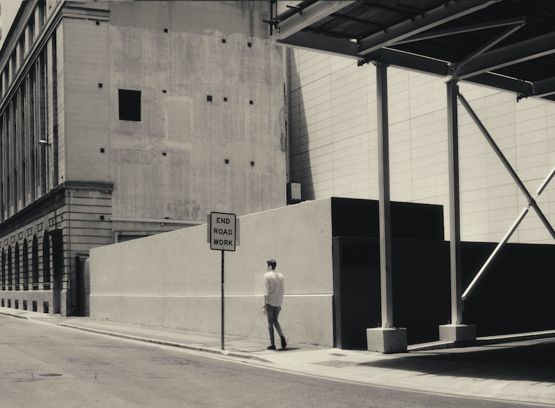 (CreativeWork) Solitude of Streets by Alex Frayne. photograph. Shop online at Bluethumb.