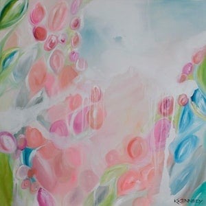 (CreativeWork) Invigorated by Kate Kennedy. arcylic-painting. Shop online at Bluethumb.
