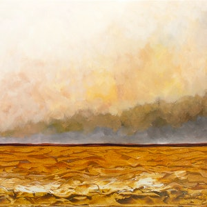 (CreativeWork) Australia: Big Country , Big Sky by Scott Jackson. acrylic-painting. Shop online at Bluethumb.