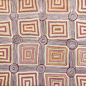 (CreativeWork) Kapi Tjukurrpa 112-18 by Ada Andy Napaltjarri. arcylic-painting. Shop online at Bluethumb.