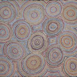 (CreativeWork) Kapi Tjukurrpa 29-18 by Ada Andy Napaltjarri. arcylic-painting. Shop online at Bluethumb.