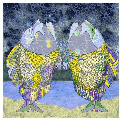 (CreativeWork) Midnight Song Ed. 1 of 4 by Fern Smith. Print. Shop online at Bluethumb.
