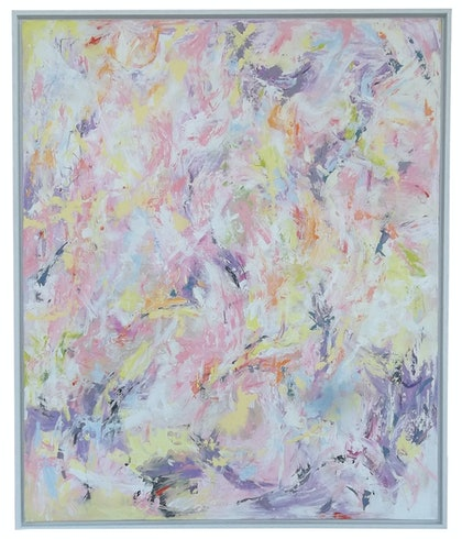 (CreativeWork) A Different Jungle by Jennifer Moore. arcylic-painting. Shop online at Bluethumb.