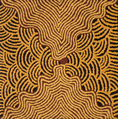 (CreativeWork) Kapi Tjukurrpa 651-17 by Pam Brown. #<Filter:0x00007fef247c1e18>. Shop online at Bluethumb.