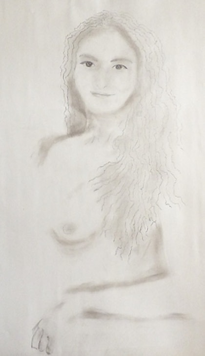 (CreativeWork) Innocence by Richard Roden. drawing. Shop online at Bluethumb.