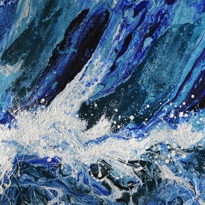 (CreativeWork) Symphony of the Sea by Brigitte Ackland. arcylic-painting. Shop online at Bluethumb.