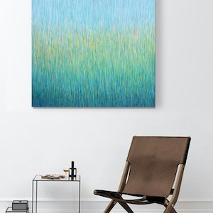 (CreativeWork) 'Grassland Rains' Acrylic on canvas Matt Varish  ready to hang  by George Hall. arcylic-painting. Shop online at Bluethumb.