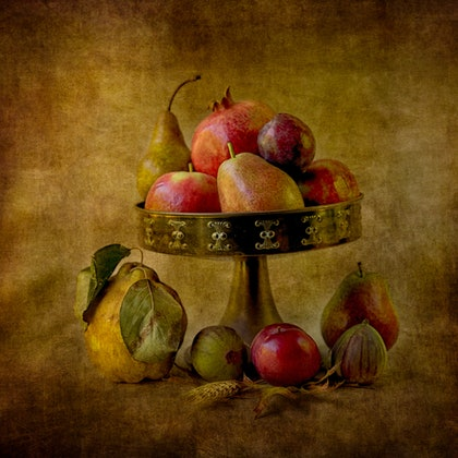 (CreativeWork) Autumn Harvest #2 by Shirley Steel. photograph. Shop online at Bluethumb.
