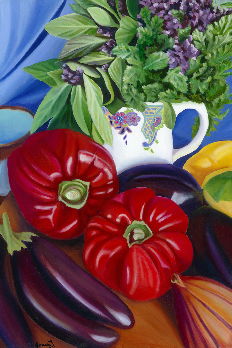 (CreativeWork) Italian Fiesta Ed. 1 of 50 by Louise Taylor. print. Shop online at Bluethumb.