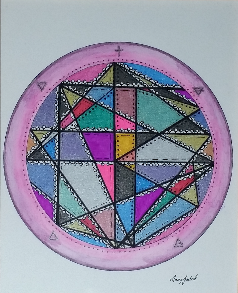 (CreativeWork) 'Believe And You Can' - Sigil by Sammie-Jade Walters. drawing. Shop online at Bluethumb.