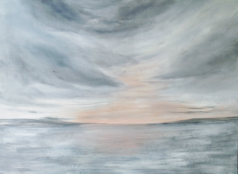 (CreativeWork) Its A New Day  by Amanda Skye Mulder. arcylic-painting. Shop online at Bluethumb.