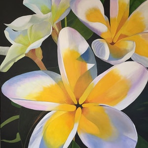 (CreativeWork) Summertime Melody by Jenny McGrath. arcylic-painting. Shop online at Bluethumb.
