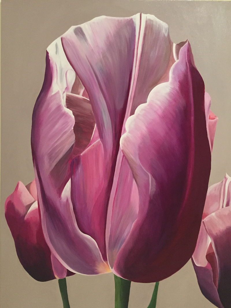 (CreativeWork) A Touch of Springtime by Jenny McGrath. arcylic-painting. Shop online at Bluethumb.