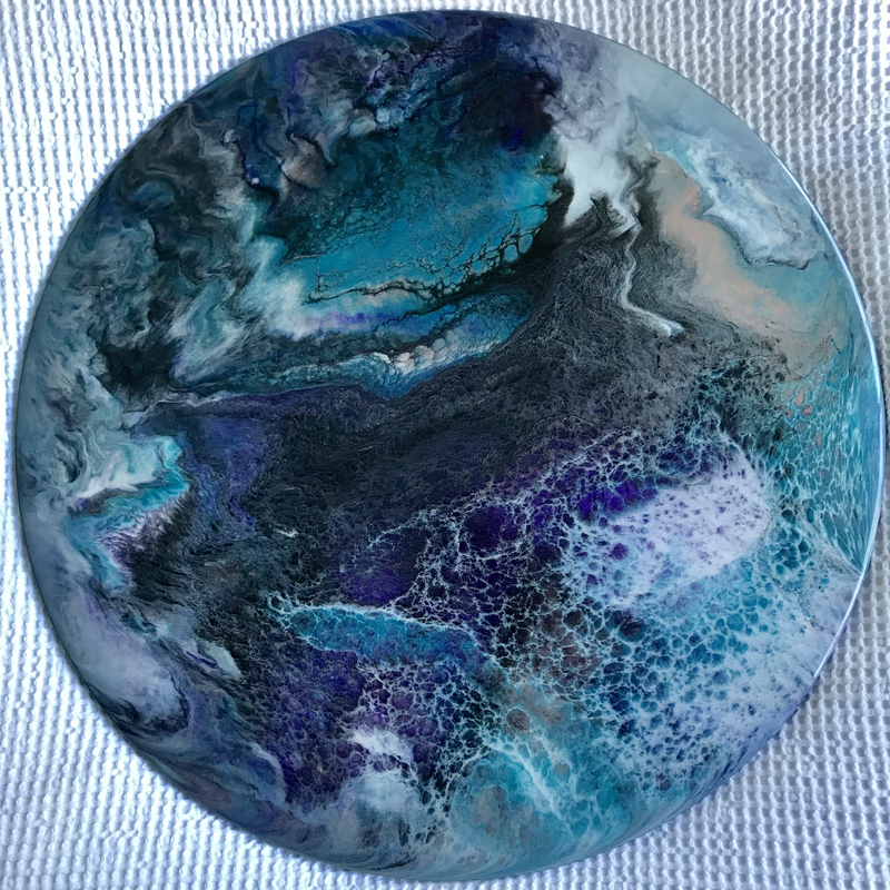 (CreativeWork) Aurora by Lucy Slaughter. resin. Shop online at Bluethumb.