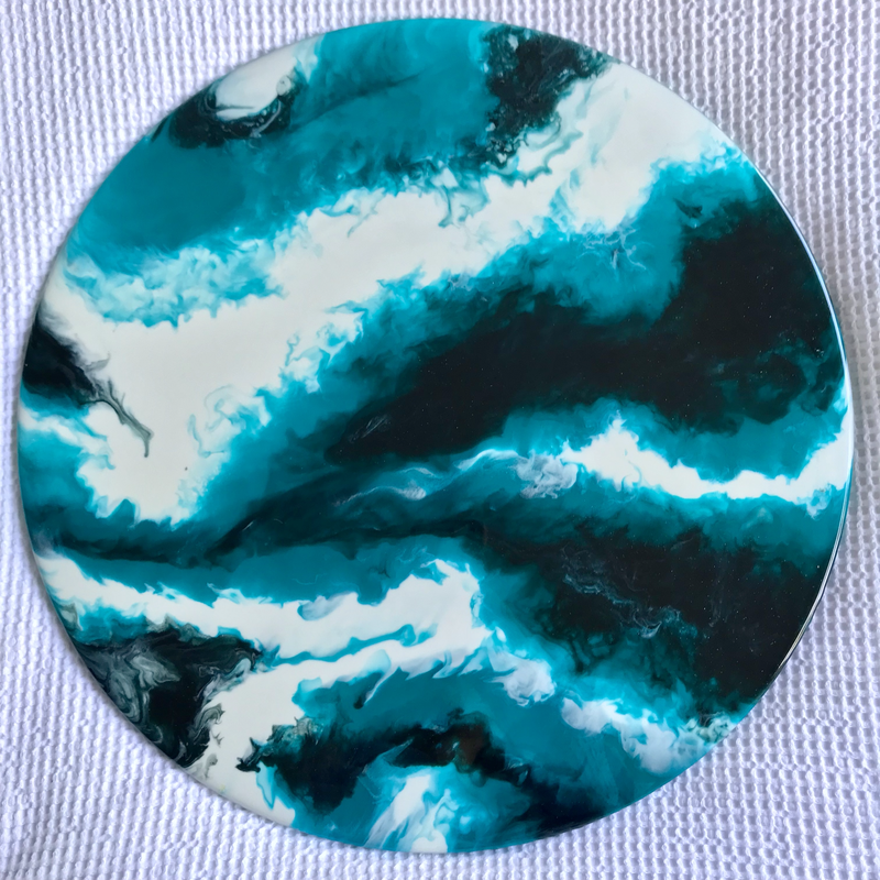 (CreativeWork) Ariel  by Lucy Slaughter. resin. Shop online at Bluethumb.