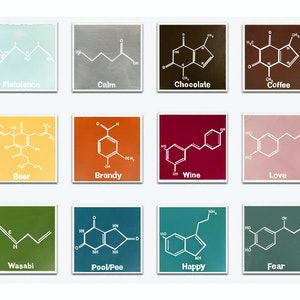 (CreativeWork) Chemistry Set [twelvetych!] by Donna Christie. arcylic-painting. Shop online at Bluethumb.