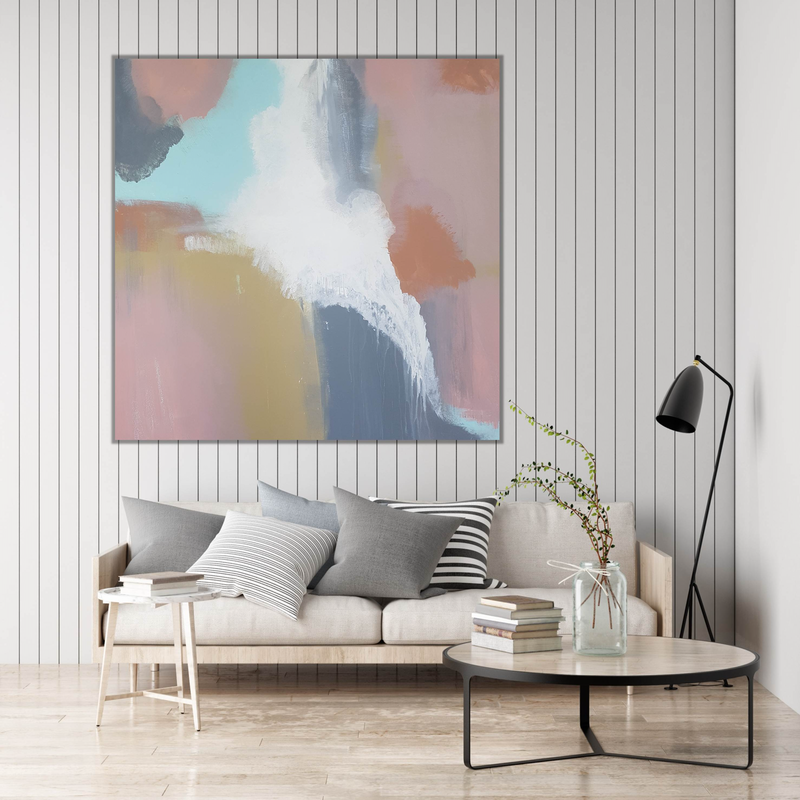 (CreativeWork) Where You'll Find Opals by Andrea Edwards. acrylic-painting. Shop online at Bluethumb.