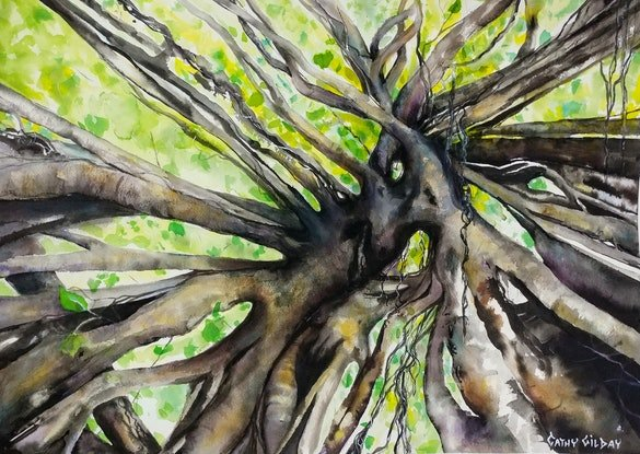 (CreativeWork) Branching Out by Cathy Gilday. Other Media. Shop online at Bluethumb.