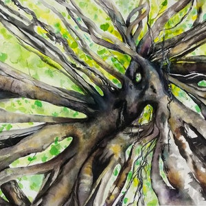 (CreativeWork) Branching Out by Cathy Gilday. other-media. Shop online at Bluethumb.