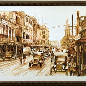 (CreativeWork) Old Ceylon-18th Centuary by Nudhi Perera. arcylic-painting. Shop online at Bluethumb.