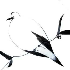 (CreativeWork) Peace Dove - Huge work - on sale  by John Graham. oil-painting. Shop online at Bluethumb.