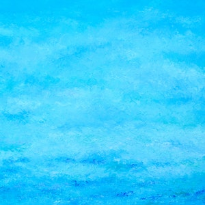 (CreativeWork) ABSTRACT BLUE OCEAN by Jan Matson. oil-painting. Shop online at Bluethumb.