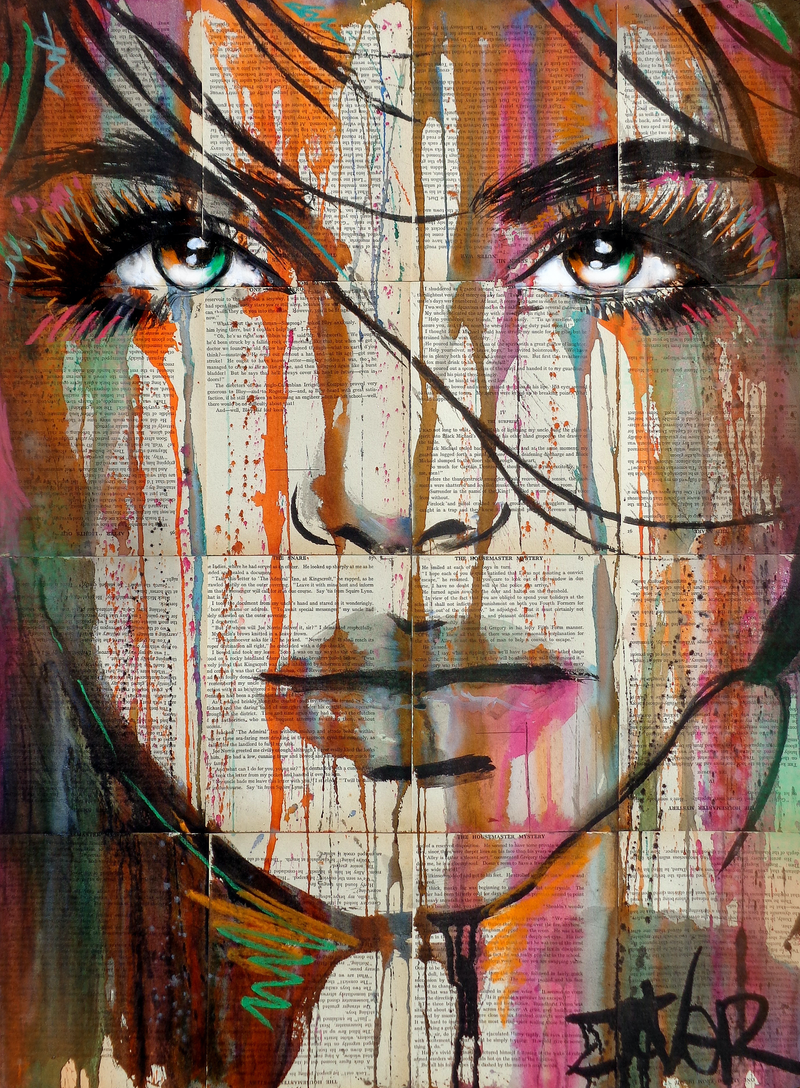 (CreativeWork) EXODUS by loui jover. drawing. Shop online at Bluethumb.