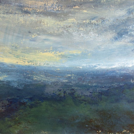 (CreativeWork) Looking Out West by Susan Ruming. Acrylic Paint. Shop online at Bluethumb.