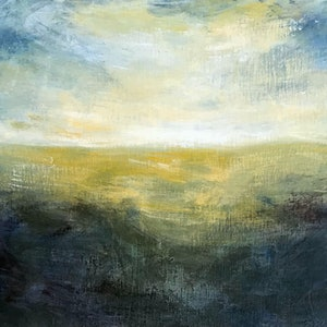 (CreativeWork) Afternoon Sun #2 by Susan Ruming. arcylic-painting. Shop online at Bluethumb.