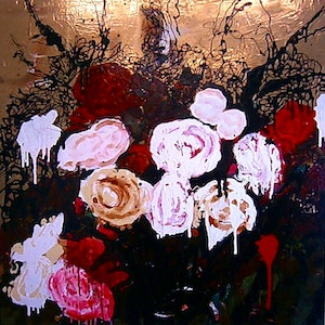 (CreativeWork) ''Power, Corruption and Lies'' by Andrew J Pearson. oil-painting. Shop online at Bluethumb.