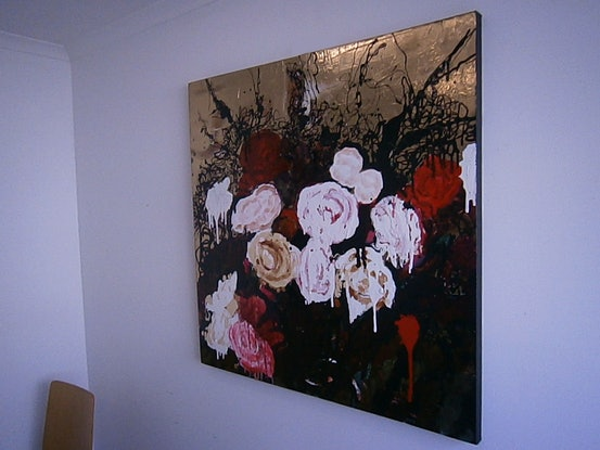 (CreativeWork) ''Power, Corruption and Lies'' by Andrew J Pearson. Oil Paint. Shop online at Bluethumb.
