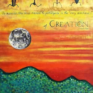 (CreativeWork) Creation by Michelle Ward. mixed-media. Shop online at Bluethumb.