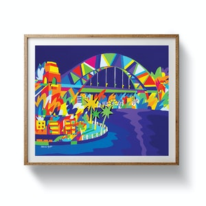 (CreativeWork) Harbour at Night - Limited Edition Print Ed. 1 of 50 by Bruno Mota. other-media. Shop online at Bluethumb.
