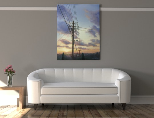 (CreativeWork) Urban Ubiquity by David Tracey. Acrylic Paint. Shop online at Bluethumb.