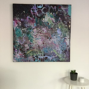 (CreativeWork) Boom by Lorna Gerard. mixed-media. Shop online at Bluethumb.