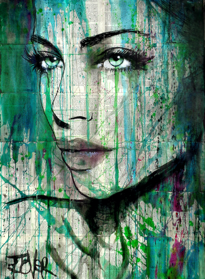 (CreativeWork) EVER by loui jover. other-media. Shop online at Bluethumb.