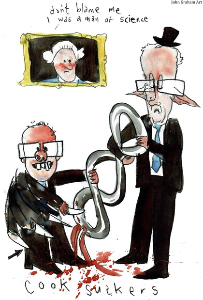 Turnbull and Morrison - Cook Suckers (save the ABC)